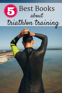 Looking for triathlon training books to help you get ready for your next race?  These 5 books are perfect for beginner to advanced triathletes   Triathlon     Triathlon training     Triathlon motivation   #Triathlon #Triathlontraining