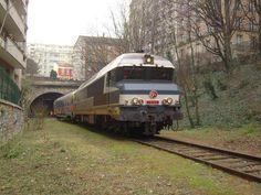 Train spécial RER C et Petite Ceinture Sud le 18/01/2012
