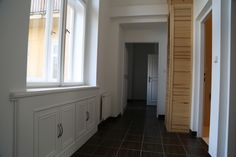 Good idea how to use the hall space. One of our new apartments for rent in Vinohrady. For more info check our website