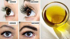 So werden deine Augenbrauen und Wimpern innerhalb kürzester Zeit dicker und dichter! - YouTube
