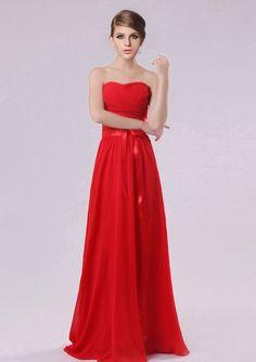 Ruby Red Bridesmaid Dresses - Ocodea.com
