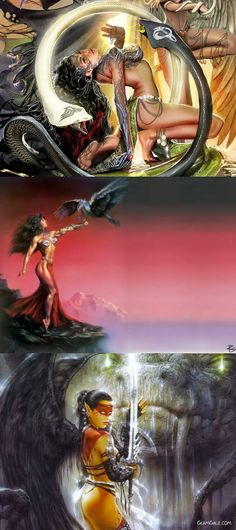 fantasy art galz