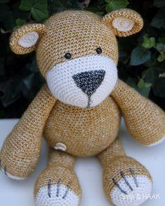 Yellow Jasper the bear