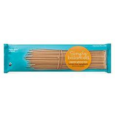 Organic Gluten Free Brown Rice Spaghetti 12 oz - Simply Balanced™ : Target