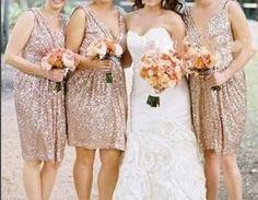 $89.99 v-neck gold short prom dress bridesmaid dress