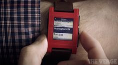 Using the Pebble smartwatch to never miss a thing: http://vrge.co/18Nmv0J