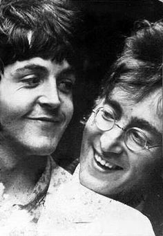 Paul McCartney and John Lennon. Best friends. By Linda McCartney.