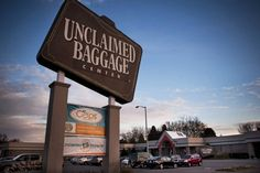 The Unclaimed Baggage Center is a retail store located in Scottsboro in Jackson County, Alabama. The store resells lost or unclaimed airline luggage. (Found it extremely ODD) Places To Travel, Places To See, Huntsville Alabama, Sweet Home Alabama, Close To Home, Weekend Trips, The Good Place, Road Trip, United States