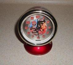 DALE EARNHARDT COCA-COLA ALARM CLOCK FREE SHIPPING!! Dale Earnhardt, Alarm Clock, Nascar, Coca Cola, Free Shipping, Coke, Projection Alarm Clock, Alarm Clocks, Cola