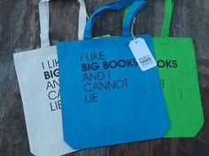 I Like Big Books And I Cannot Lie  One by PamelaFugateDesigns, $14.95