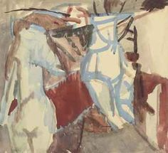 David Bomberg Great Paintings, Beautiful Paintings, David Bomberg, Frank Auerbach, Thing 1, David Hockney, Mark Making, Life Drawing, Figure Painting