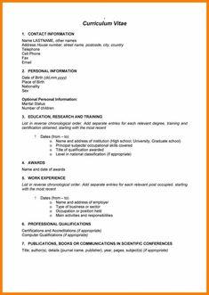 970 Best 1 Cv Template Images Cv Template Resume