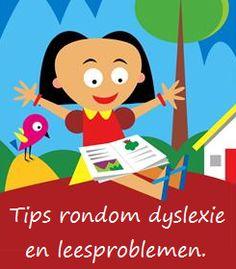 Tips rondom dyslexie en leesproblemen - KlasvanjufLinda.nl - vol met leuke lesideeën en lesidee