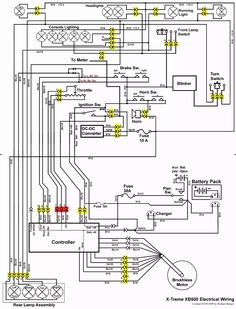 8 Best Scooter wiring diagram images | Chinese scooters ...