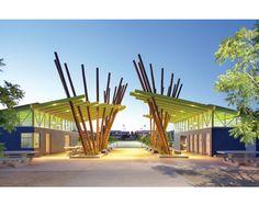 Sepulveda Basin Field House, Killerfer Flammang Architects (Van Nuys, CA)