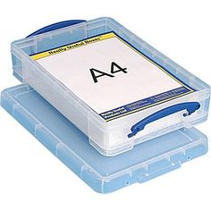 64 Liters Features Attached Handles Make It Easy To Carry Really Useful Clear Transparent Plastic Storage Box