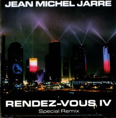 JMJ alternative sleeve for single Jean Michel Jarre, Cultural Events, New Age, Electronic Music, Trance, Album Covers, Illustrations Posters, Techno, Alternative