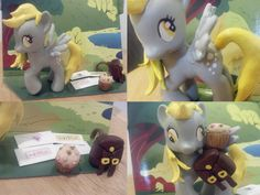Derpy Custom request.  I will be making a few more to sell at BroNYcon.  Accessories included. <3  nerdymind.etsy.com