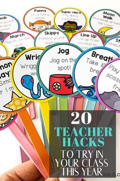 20 Teacher Hacks You Wish You Would Have Thought Of - Chaylor & Mads - These teacher hacks are brilliant ideas for your classroom that will make your life so much easier - Year 4 Classroom, Classroom Hacks, Classroom Organisation, Kindergarten Classroom, Classroom Management, Future Classroom, Classroom Projects, Behavior Management, Classroom Decor