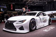 Lexus RC F at the 2014 Geneva International Motor Show today. Lexus Cars, Geneva, Vehicles, Sports, Hs Sports, Sport, Cars, Vehicle