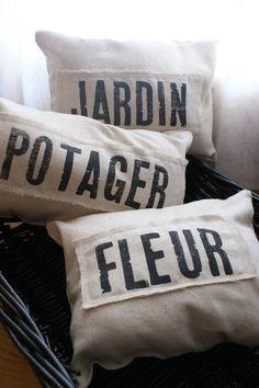Petit French Farmhouse Pillows
