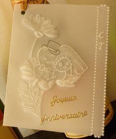 petite carte faite pour un anniversaire de mariage - Cartes Virtuelles Anniversaire De Mariage