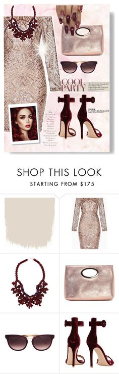 """""""#prettyface"""" by liligwada ❤ liked on Polyvore featuring BCBGMAXAZRIA, Ek Thongprasert, Donald J Pliner, Thierry Lasry, Chanel and Gianvito Rossi"""