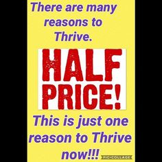 Get a 3 or 6 month supply of Thrive for 1/2 Off!! Go in with someone and you can both get 1.5 months for $100/ea. That's Three premium products and and an experience you won't regret!  #thrive #fitness #public #model #lifegoals #joinme #sale #thrivingnotsurviving #investinyourself #thriveexperience #jointsupport #justthrive  #nutrition #supplements #helpothers #getonmylevel #discount #lifechanging #thriver #thrivepromoter #thrivelife #energy #thrivewithme #teambuilding #healthy…