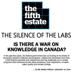 The War On Knowledge: Is the Harper Government Canada's Taliban?