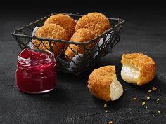 camembert with cranberry sauce (German McDonald's)
