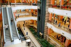 Mall in Nairobi, Kenya.