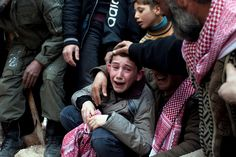 Civil War in Syria - who will hear the cries of this child?