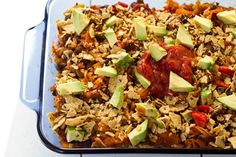 Naughty & Nice Vegan Enchilada Casserole. 4 stars.  It was really good and my kids ate it, but it wasn't pretty on the plate.