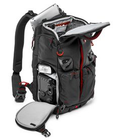 The Pro Light PL camera backpack guarantees the fastest, split-second camera quick-draw options! It offers three active carrying options in one, effortlessly morphing from right sling to backp Photo Backpack, Camera Bag Backpack, Camera Gear, Black Backpack, Camera Rig, Diy Backpack, Photography Accessories, Photography Camera, Health Fitness
