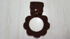 Your place to buy and sell all things handmade Crochet Rings, Secret Santa Gifts, Towel Holder, Cloth Napkins, Gift Bags, Green And Gold, Printing On Fabric, Symbols, Brown