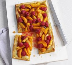 Delicious served hot or cold, this tart uses filo pastry to keep the calories down