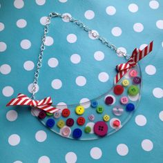Resin Statement Collar Necklace by RubyBijou on Etsy, £20.00