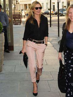 Kate Moss en 1991 - Kate Moss : 40 ans, 40 looks - Grazia