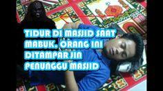 Kisah Nyata !!! Tidur Di Masjid Saat Mabuk, Wajah Orang Ini Ditampar Jin, Hingga Menjadi Begini