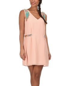 Look at this Light Pink Estella Dress on #zulily today!