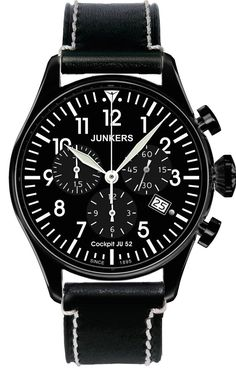 Junkers Watch Cockpit JU52 #2015-2016-sale #bezel-fixed #black-friday-special #bracelet-strap-leather #brand-junkers #case-material-black-pvd #case-width-40mm #chronograph-yes #classic #date-yes #delivery-timescale-1-2-weeks #dial-colour-black #gender-mens #movement-quartz-battery #official-stockist-for-junkers-watches #packaging-junkers-watch-packaging #sale-item-yes #style-dress #subcat-cockpit-ju52 #supplier-model-no-6182-2 #vip-exclusive #warranty-junkers-official-2-year-guarantee…