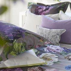 Designers Guild Alexandria Amethyst Sham Ships Free #romanticbedding #beautifulbedding