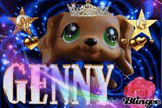 LPS Popular Genny Blingee - littlest-pet-shop Photo