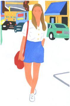 Hisashi Okawa in Illustration