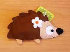 Xima the Hedgehog Purse by lovelia on Etsy