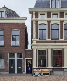 A reconstruction of Vermeer's scene, at the location of the Little Street, as identified by a Dutch art historian