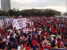 Live: Million Supporters of President Duterte Joins Freedom Rally, Vigil in Luneta February 25, 2017 - YouTube