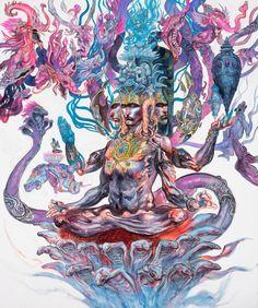 Shiva Through the Brush of Abhishek Singh