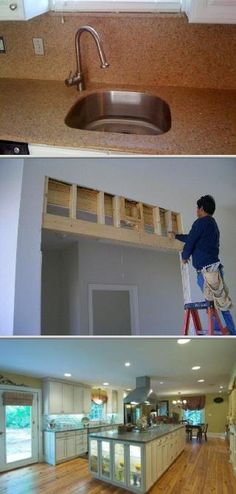 HomePro Services provides handyman and home repair services, such as drywall repair and sheetrock installation, wallpaper removal, and more. They also offer mold and water damage restoration, among others.