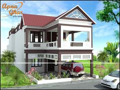 Looking to decorate your 5 Bedroom Duplex House? With a lavish designs visit #Apnaghar  5 Bedrooms Duplex House Design in 336m2 (8m X 42m).  More details - http://apnaghar.co.in/house-design-421.aspx    Call Toll-Free No.- 1800-102-9440 Email: support@apnaghar.co.in